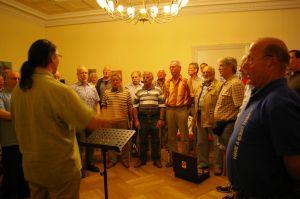 Berliner Männerchor bei der Probe
